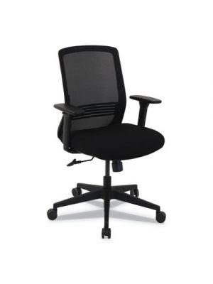 kathy ireland by Alera Resolute Series Mesh Chair, Black, Mesh Back/Fabric Seat