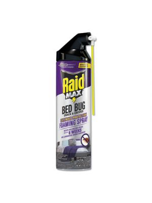 Foaming Crack and Crevice Bed Bug Killer, 17.5 oz, Aerosol, 6/Carton