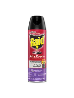Ant and Roach Killer, 17.5 oz Aerosol, Lavendar, 12/Carton
