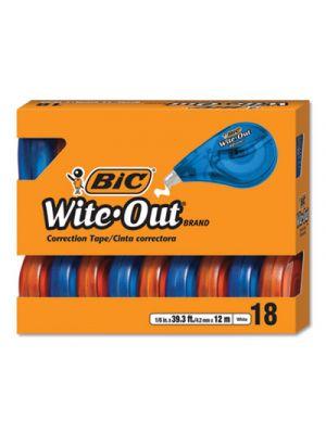 Wite-Out EZ Correct Correction Tape, Non-Refillable, 1/6