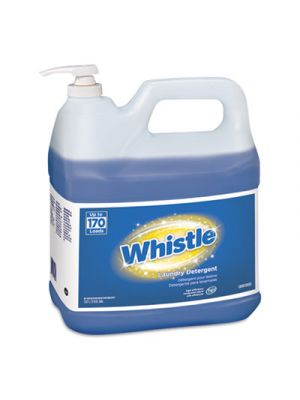 Whistle Laundry Detergent (HE), Floral, 2 gal Bottle, 2/Carton