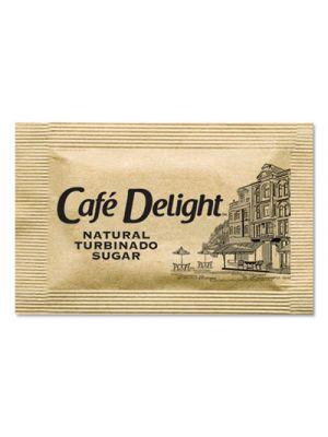 Raw Turbinado Sugar Packets, 2.8 g Packet, 2000 Packets/Box
