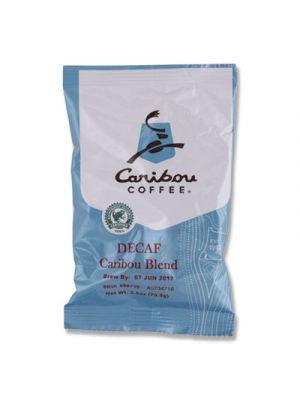Decaf Caribou Blend Coffee Fractional Packs, 2.5 oz, 18/Carton