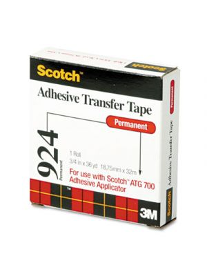 Adhesive Transfer Tape Roll, 3/4