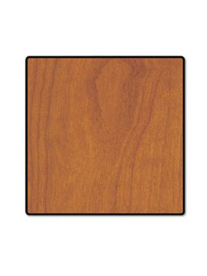 Square Conference Table Top, 36w x 36d, Wild Cherry