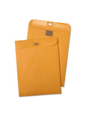 Postage Saving ClearClasp Kraft Envelopes, #55, 6 x 9, Brown Kraft, 100/Box