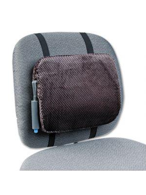Adjustable Backrest w/Pushbutton Pump, 12 7/8w x 2 3/4d x 10 3/4h, Gray, 4/CT