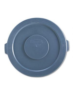 Round Flat Top Lid, for 32-Gallon Round Brute Containers, 22 1/4