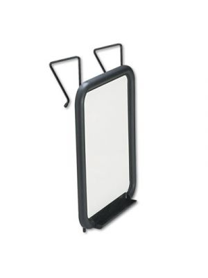 Panelmate Dry Erase Marker Board, 13 1/2 x 16 5/8, 11 x 14 Surface, Charcoal