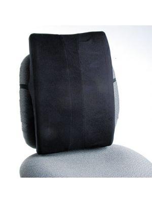 Remedease Full Height Backrest, 14 x 3 x 20, Black