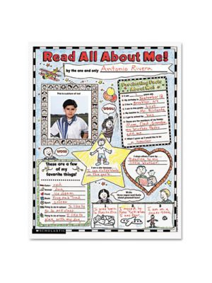 Instant Personal Poster Sets, Read All About Me, 17