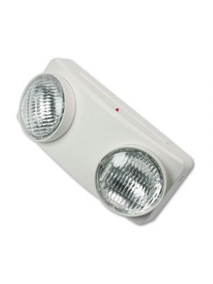 Swivel Head Twin Beam Emergency Lighting Unit, 12 3/4