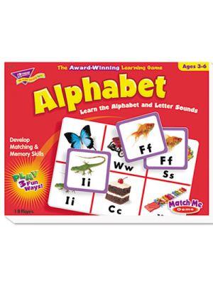 Alphabet Match Me Puzzle Game, Ages 4-7