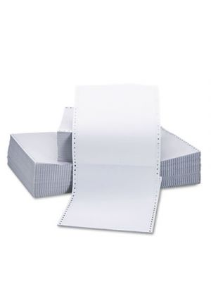 Two-Part Carbonless Paper, 15lb, 9-1/2 x 11, Perforated, White, 1650 Sheets