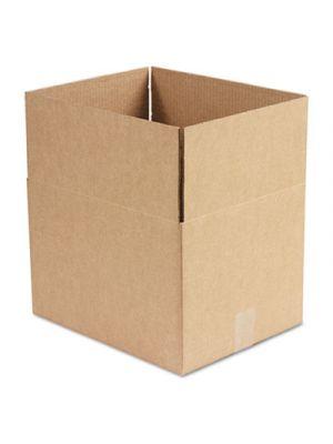 Brown Corrugated - Fixed-Depth Shipping Boxes, 15l x 12w x 10h, 25/Bundle