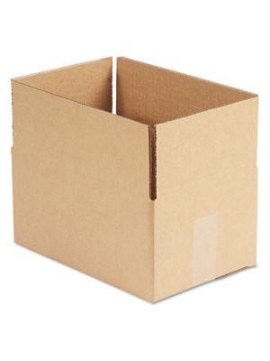 Brown Corrugated - Fixed-Depth Shipping Boxes, 12l x 8w x 6h, 25/Bundle