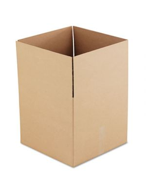 Brown Corrugated - Fixed-Depth Shipping Boxes, 18l x 18w x 16h, 15/Bundle