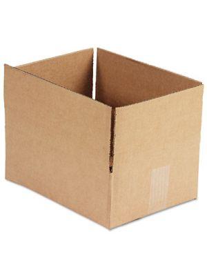 Brown Corrugated - Fixed-Depth Shipping Boxes, 12l x 9w x 4h, 25/Bundle