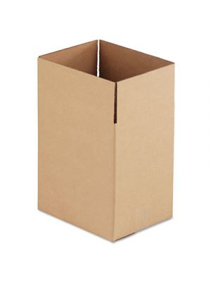 Brown Corrugated - Fixed-Depth Shipping Boxes, 11 1/4l x 8 3/4w x 12h, 25/Bundle