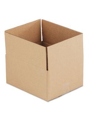 Brown Corrugated - Fixed-Depth Shipping Boxes, 12l x 10w x 6h, 25/Bundle
