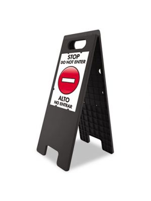 Floor Tent Sign, Doublesided, Plastic, 10 1/2