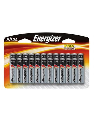MAX Alkaline Batteries, AA, 24 Batteries/Pack