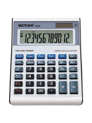 6500 Executive Desktop Loan Calculator, 12-Digit LCD
