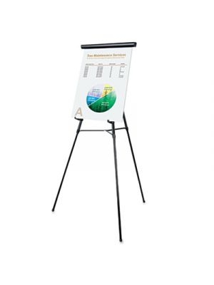 3-Leg Telescoping Easel with Pad Retainer, Adjusts 34