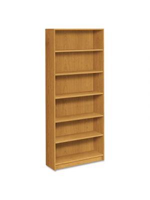 1870 Series Bookcase, Six Shelf, 36w x 11 1/2d x 84h, Harvest