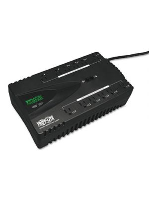 ECO850LCD ECO Series UPS System, 12 Outlets, 850 VA, 420 J