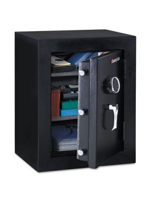 Executive Fire-Safe, 3.4 ft3, 21 3/4w x 19d x 27 3/4h, Black