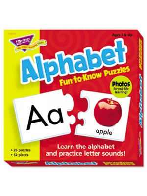 Fun to Know Puzzles, Alphabet