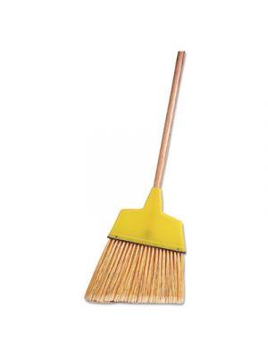 Angle Broom, Flagged Plastic Bristles, 7-1/2