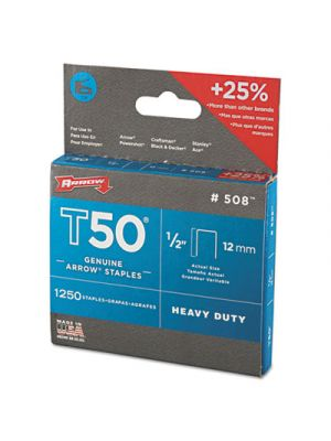 T50 Heavy Duty Staples, 1/2
