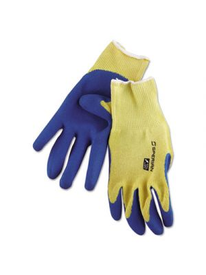 Tuff-Coat II Gloves, Blue/White, X-Large, Dozen