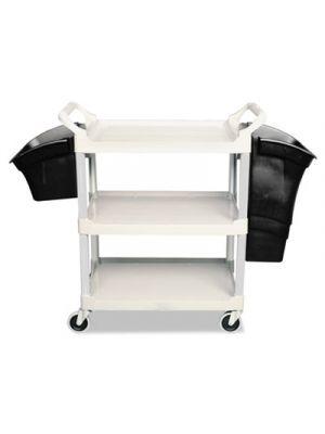 Xtra Utility Cart, 300-lb Cap, Two-Shelves, 20w x 40-5/8d x 37-4/5h, Gray