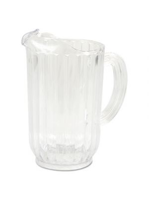 Bouncer Plastic Pitcher, 72 oz, Clear