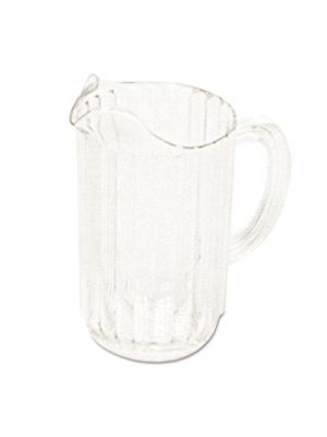 Bouncer Plastic Pitcher, 54 oz, Clear, Polycarbonate