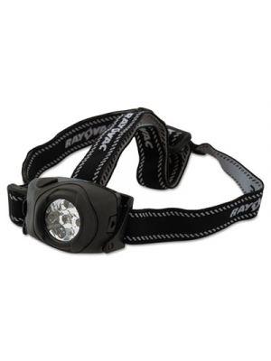 Virtually Indestructible LED Headlight, 3 AAA, Black