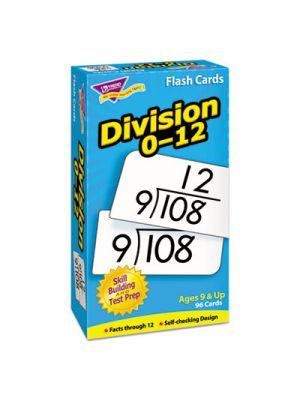 Skill Drill Flash Cards, 3 x 6, Division
