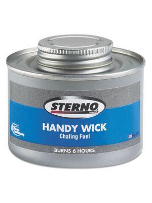 Handy Wick Chafing Fuel, Can, Methanol, Six-Hour Burn, 24/Carton
