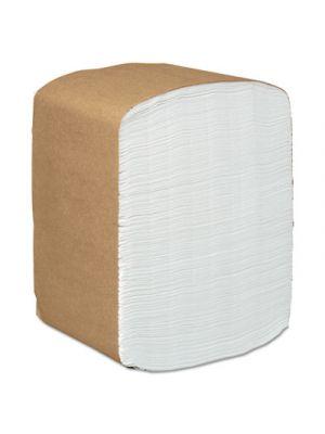 Full-Fold Dispenser Napkins, 1-Ply, 12 x 17, White, 250/Pack, 24 Packs/Carton