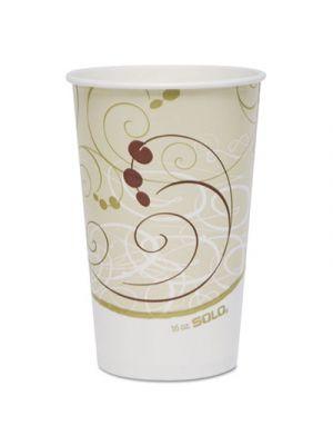 Paper Cold Cups, 16 oz., Symphony Design, 50/Bag