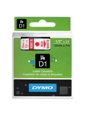 D1 High-Performance Polyester Removable Label Tape, 1/2
