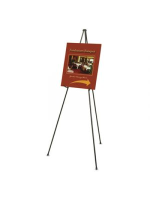 Heavy-Duty Adjustable Instant Easel Stand, 25