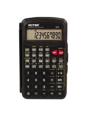920 Compact Scientific Calculator with Hinged Case,10-Digit, LCD