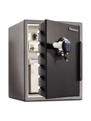 Fire-Safe w/Digital Keypad Access, 2 ft3, 18.66 x 19.38 x 23.88, Black