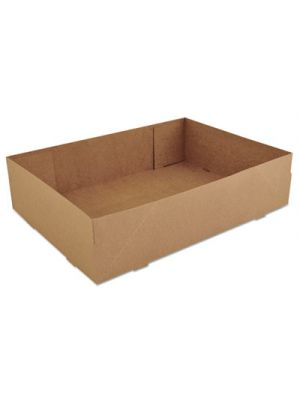 Donut Trays, 13 1/2w x 9 7/8d x 3 3/8h, Brown, 250/Carton