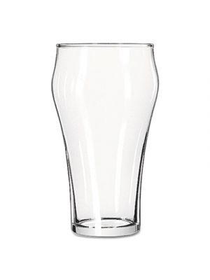 Bell Soda Glasses, 21 oz, Clear, 36/Carton