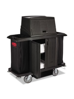 Full Size Housekeeping Cart with Doors